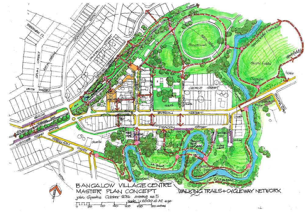 Bangalow Village Master Plan Sm