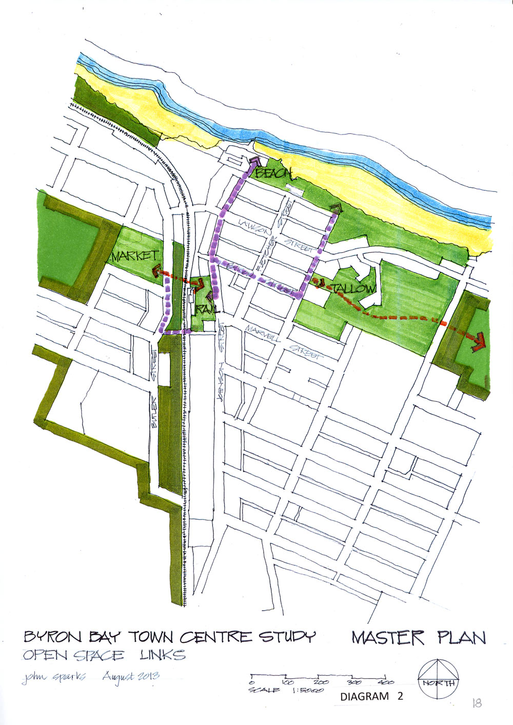 BYRON BAY TOWN CENTRE MASTER PLAN diagram2